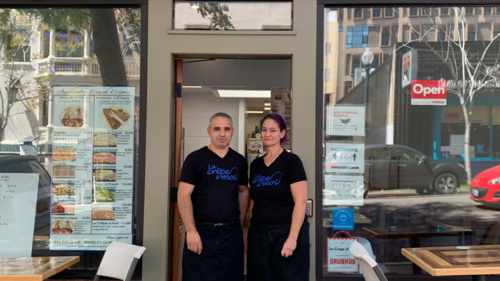 Until Cal students return, this Berkeley creperie is just holding on
